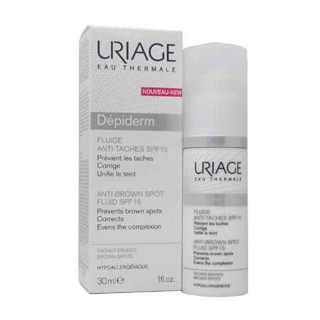 Dépiderm Fluide anti-taches SPF15 Uriage 30ml