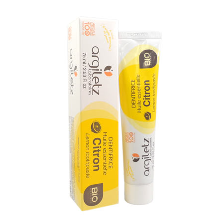 Argiletz dentifrice bio citron 75ml