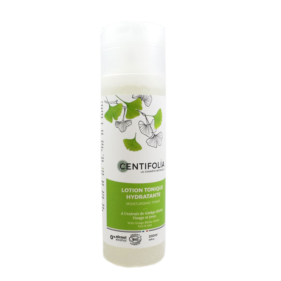 Lotion tonique hydratante Centifolia 200ml