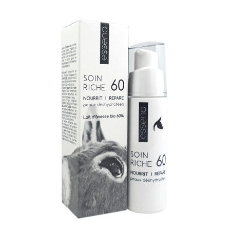 Essena soin riche 60 au lait d\'ânesse bio 40ml