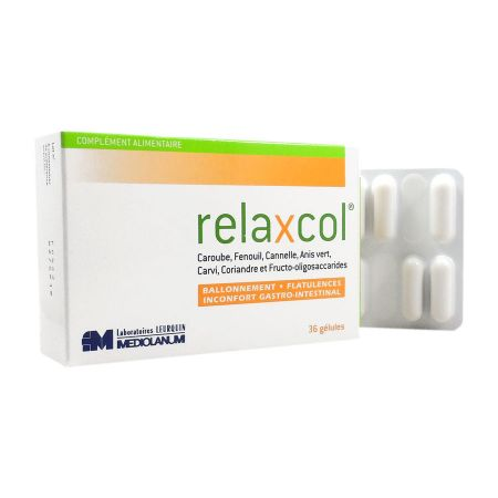 Relaxcol 36 gélules