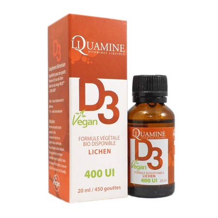 Liquamine D3 Vegan 400UI Dr.Theiss 20ml
