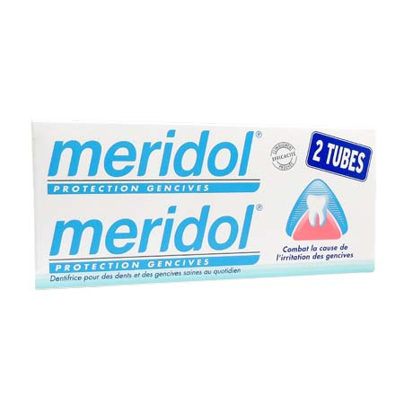 Méridol Dentifrice Protection Gencives LOT DE 2