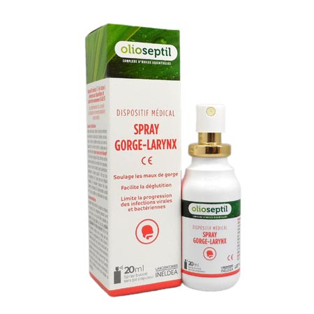 Spray gorge larynx Olioseptil 20 ml