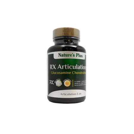 RX Articulations Glucosamine Chondroitine Nature\'s Plus 60 comp.