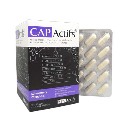 CAPActifs cheveux & ongles SYNActifs - Vitalya