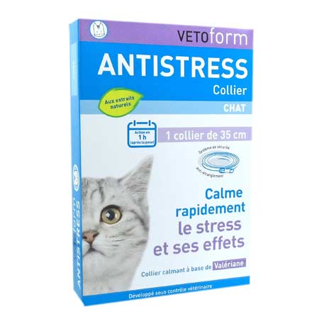 Vetoform collier antistress chat