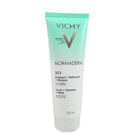 Masque 3 en 1 Normaderm Vichy 125 ml