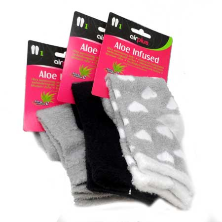 grossiste 4f3ae 95ad1 Chaussettes New Aloe Spa Airplus