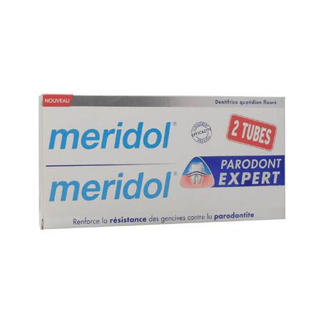 Meridol parodont expert dentifrice 75ml Lot de 2
