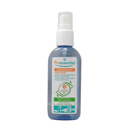 spray antibactérien Puressentiel 80ml