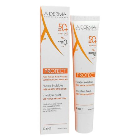 Fluide invisible Aderma Protect SPF50+ 40ml