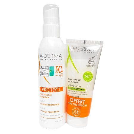 Aderma solaire protect spray SPF50+ 200ml offre spéciale