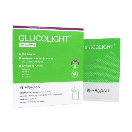 Glucolight Aragan 20 sachets