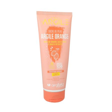 Argiletz gommage exfoliant corps argile orange 200ml