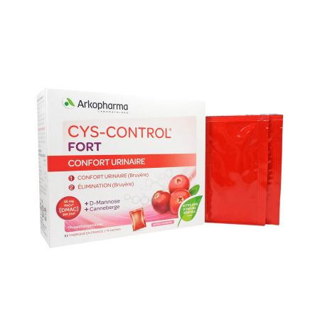 Cys-Control Fort confort urinaire 14 sachets
