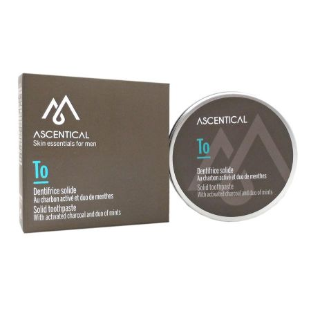 Ascentical dentifrice solide 60 g