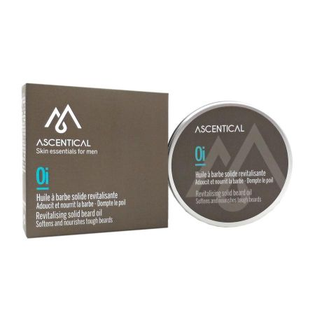 Ascentical huile à barbe solide revitalisante 60ml
