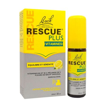 Rescue Plus Vitamines spray Bach 20ml