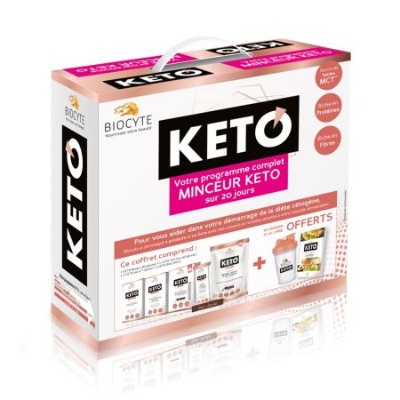 Pack Keto 20 jours Biocyte