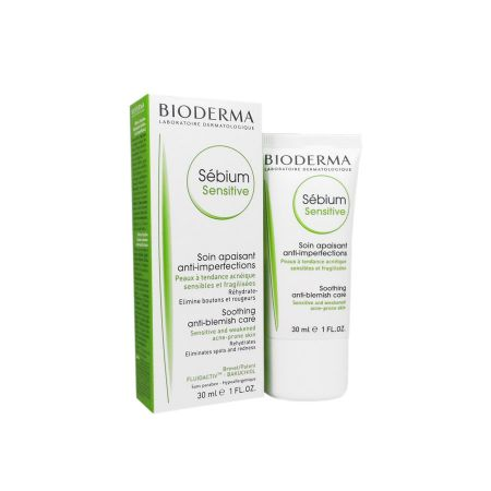 Sebium Sensitive soin apaisant anti-imperfections Bioderma 30ml