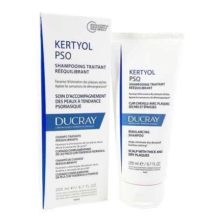 Shampooing traitant rééquilibrant Kertyol PSO Ducray 200ml