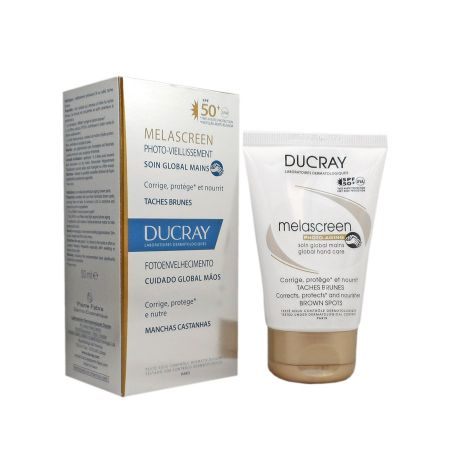 Ducray Melascreen soin global mains 50ml