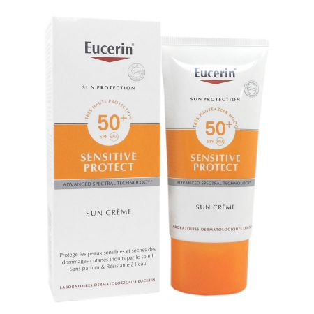 Eucerin Sensitive Protect Sun Crème SPF50+ 50 ml
