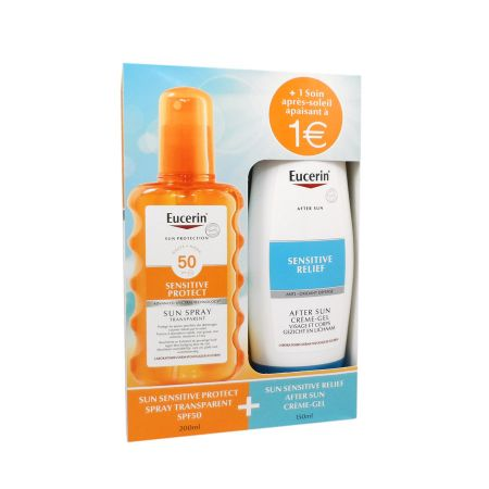 Eucerin Sensitive Protect Sun Spray Transparent SPF50 200 ml