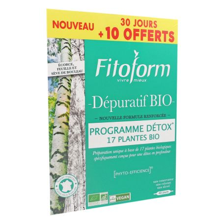 Fitoform Dépuratif Bio lot x 2