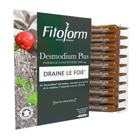 Desmodium plus Fitoform 20 ampoules