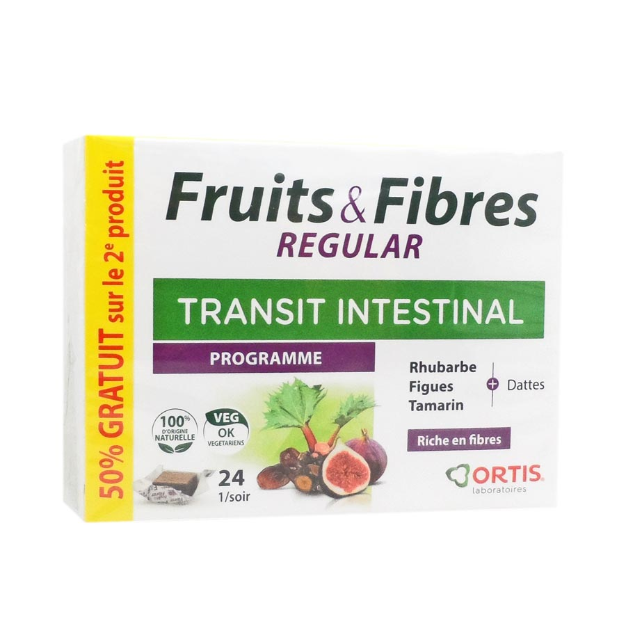 Fruits & Fibres Regular Ortis 48 cubes