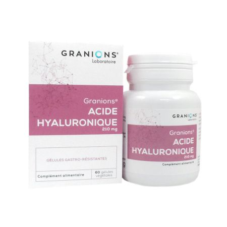 Acide Hyaluronique 210mg Granions 60 gélules