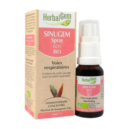 Herbalgem Sinugem spray GC15 bio 15ml