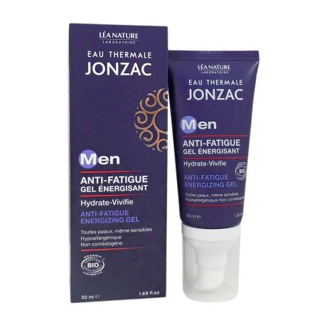 Gel énergisant Jonzac Men anti-fatigue bio 50 ml