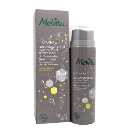 Melvita Homme gel visage global 50ml