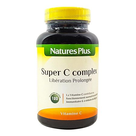 Super C Complex Nature\'s Plus 120 comprimés