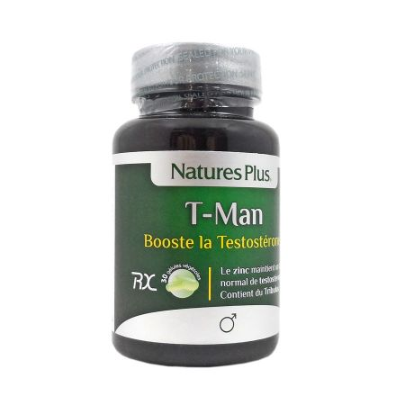 T-Man Nature\'s Plus 30 gélules
