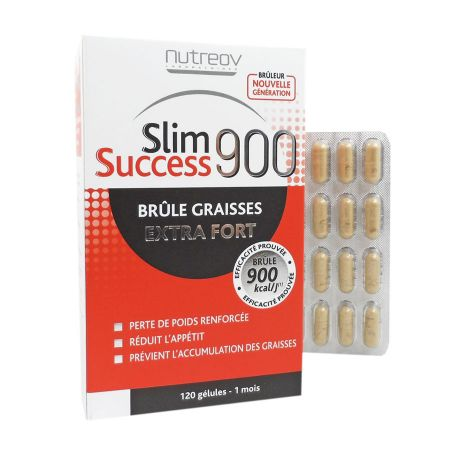 Slim Success 900 Brûle Graisses Extra Fort Nutreov 120 gélules