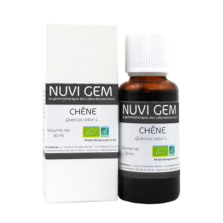 Bourgeon chêne bio Nuvi Gem 30ml