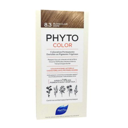 Phyto Phytocolor coloration 8.3 Blond Clair Doré