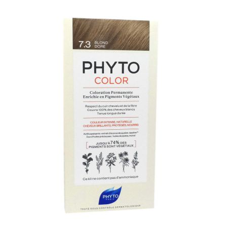 Phyto Phytocolor coloration permanente 7.3 Blond Doré
