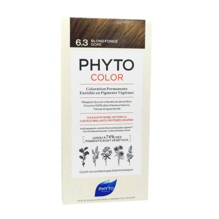 Phyto Phytocolor coloration permanente 6.3 blond foncé doré