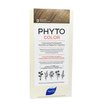 Phyto Phytocolor coloration permanente 9 blond très clair