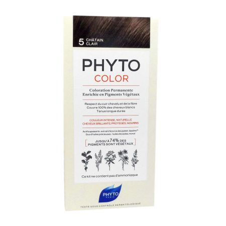 Phyto Phytocolor coloration permanente 5 châtain clair