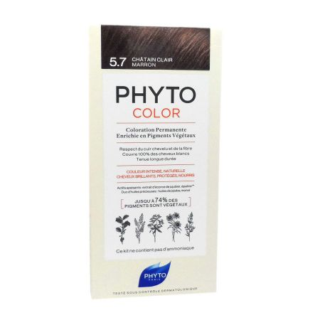 Phyto Phytocolor coloration permanente 5.7 châtain clair marron