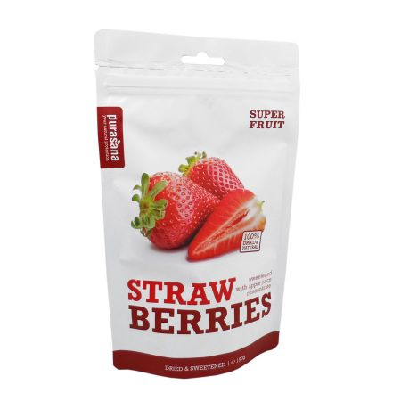 Fraises Strawberries Purasana 150 g