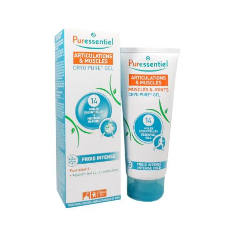 Puressentiel articulations cryo pure gel froid intense 80ml