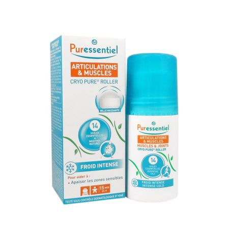 Roller froid intense Puressentiel articulations cryo pure 75ml