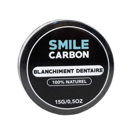 Smile Carbon blanchiment dentaire 15g